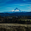 Mt. Hood and Farm Land