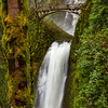 Multnomah Falls from Pathway