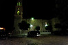 Linda and I walked around the town square, this is a night shot of the La Iglesia church.