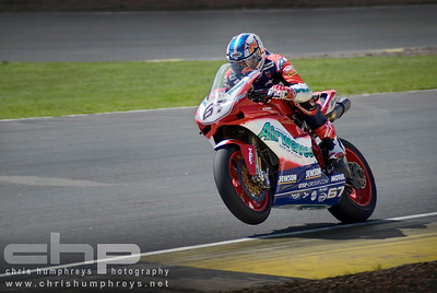 "Shane ""Shakey"" Byrne at Knockhill, Scotland. 2008 British Superbike Championship"