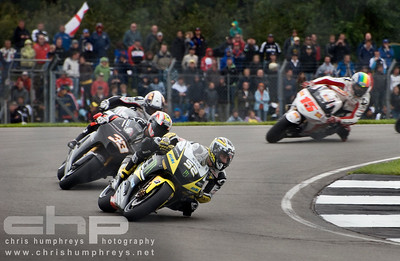 James Toseland holds station at Donnington Park, England. 2009 MotoGP Championship