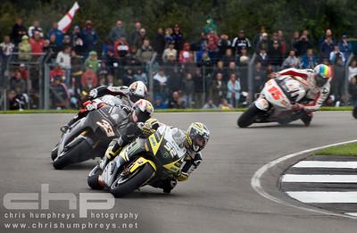 James Toseland holds station at Donnington Park, England. 2009 MotoGP Championship