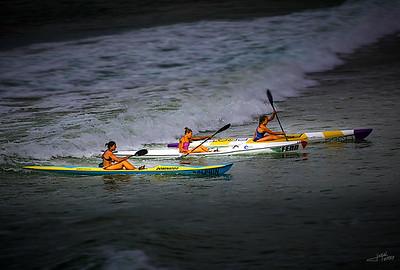 Surfski Finish