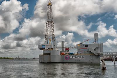 Pier 21 in Galveston, Texas