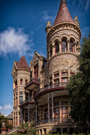 Bishop's Palace in Galveston, Texas