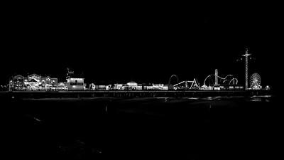 Historic Pleasure Pier on Galveston Island, Texas