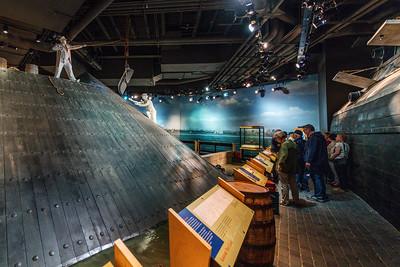 At The Newport News Maritime Museum