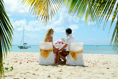 Beach Engagement in barbados