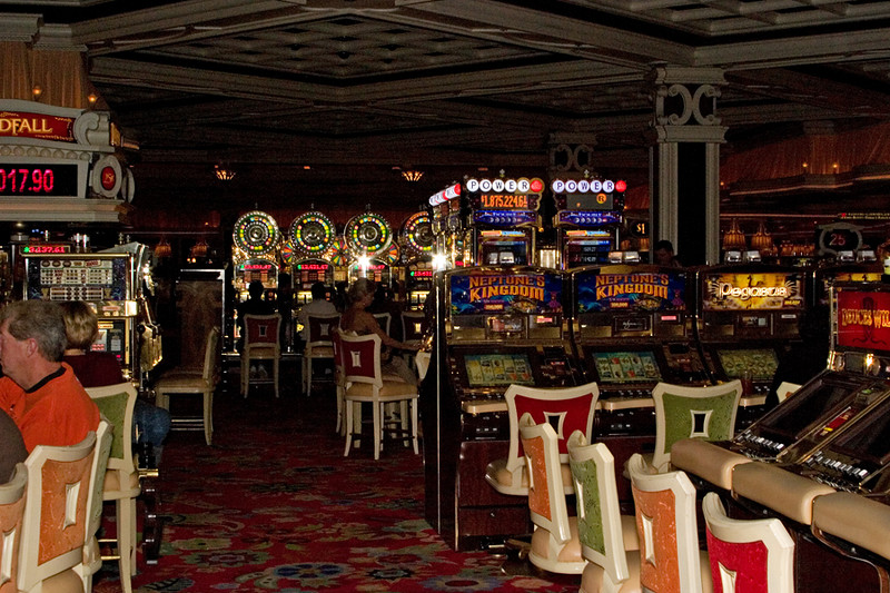 The casino at The Wynn