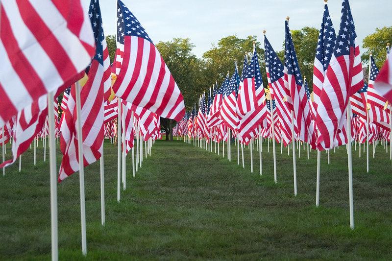 Healing Field flags