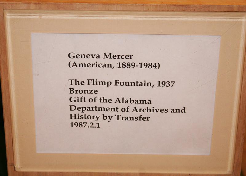 Flimp Fountain sign