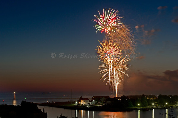 Fireworks, Frankfort MI
