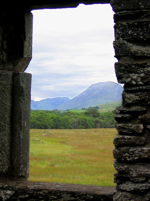 Looking towards Creag Mhor from the castle