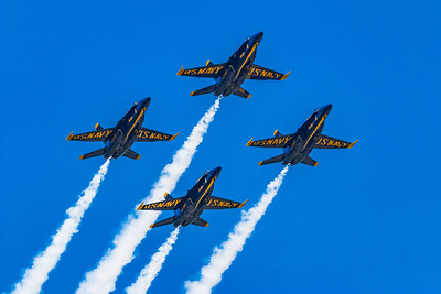 Blue Angels Soaring