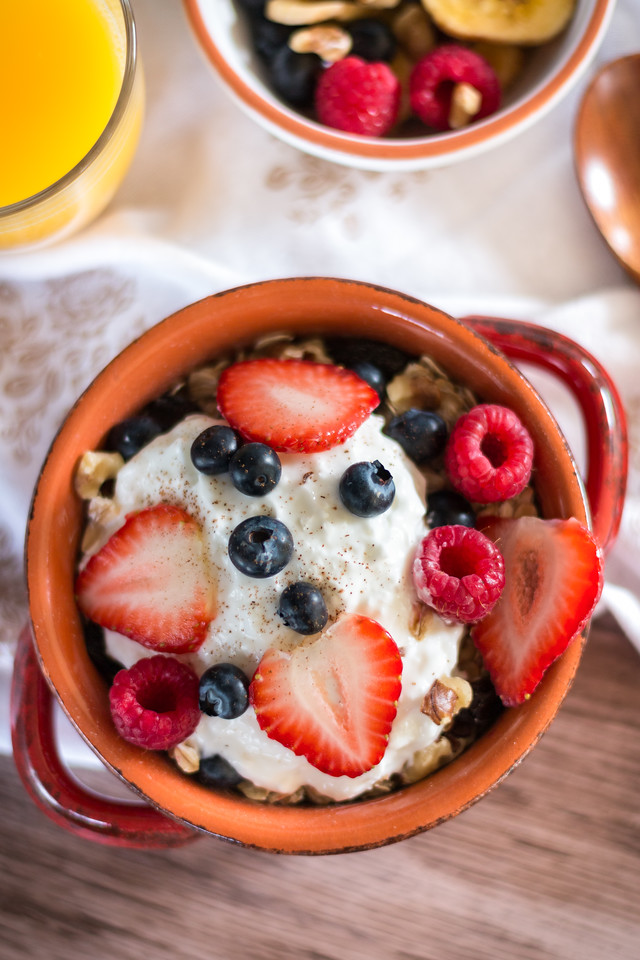 Fruity Oatmeal Breakfast