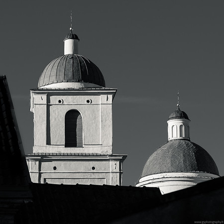 Two towers, Vilnius edition