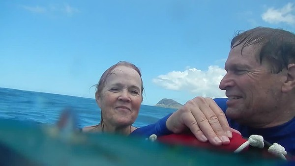 170414 Snorkeling Power Plant Oahu with water corrections HB