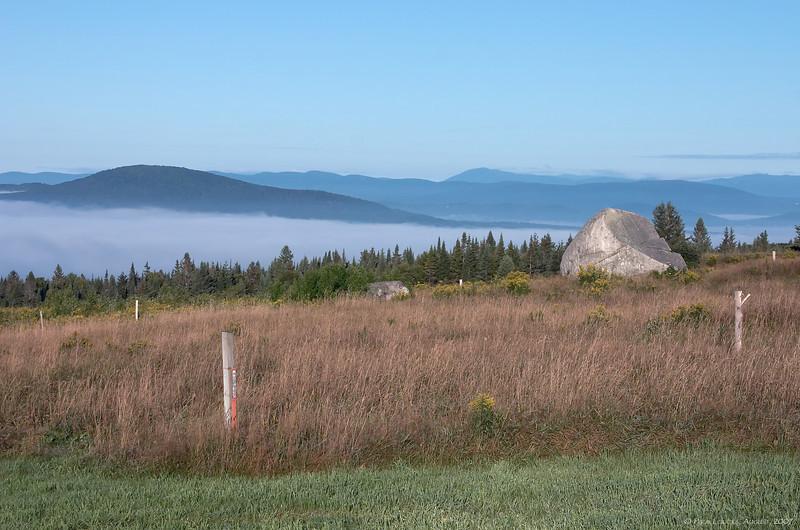 Mountain top vista