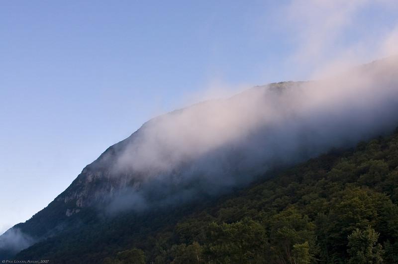 Mount Hor, sunrise