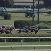Finishing on the inner turf in the 7th race