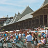 Saratoga's main pavilion from trackside