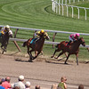 Top of the stretch, 4th race