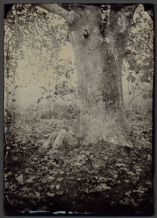 Self-Portrait - Wet Plate Photography