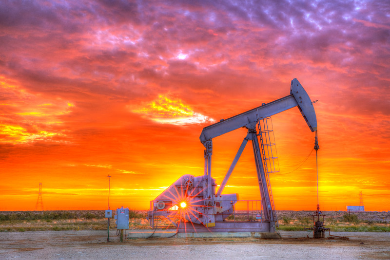 6344 Oil well