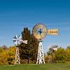 Mid-America Windmill Museum: a pair of Fairbanks Morse Eclipse windmills.