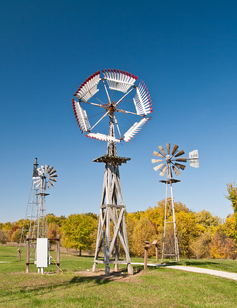 Mid-America Windmill Museum: an Elgin FT Hummer (foreground).