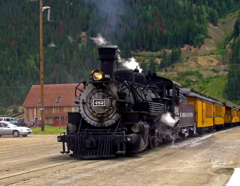 Durango & Silverton Railroad #482 - 1925 Baldwin Locomotive
