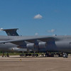 C5 Galaxy - up on jack stands