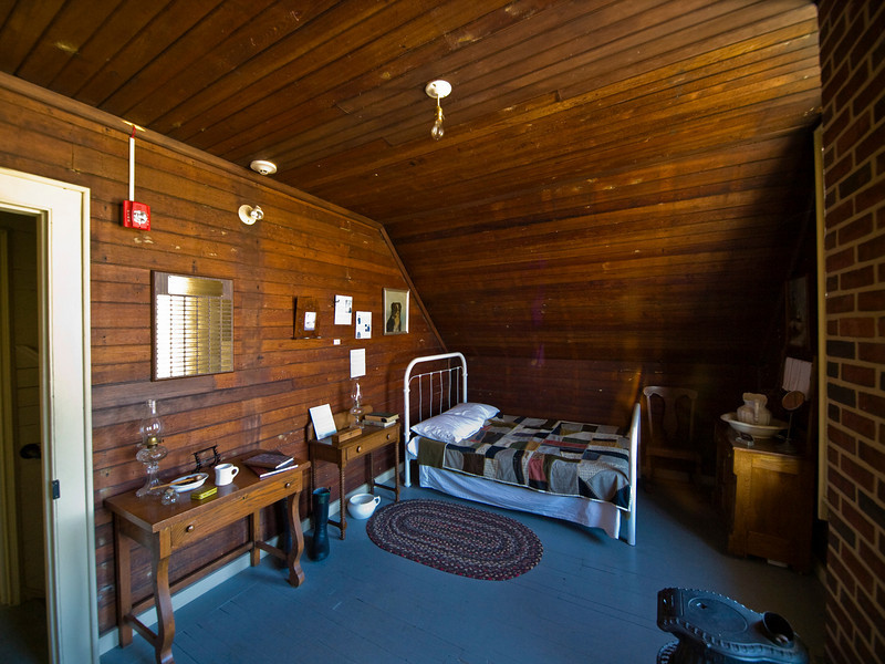 The Station Keeper's quarters.  The Station Keeper was the commanding officer in charge of the Station.