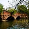 The Seneca Creek Aqueduct on the C&O Canal - a water bridge over a river.