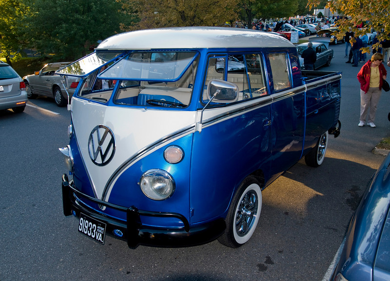 1963 VW Double Cab; 1.5 liter, 51 hp.