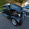 Custom hot rod: 1933 – 34 Ford radiator and body parts and Chevy drive train