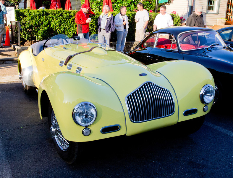 An early 1950s Allard K2 - this one has a Cadillac engine