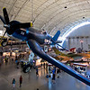 A Chance Vought F4U Corsair, the most capable carrier-based fighter-bomber of World War II.  Some Japanese pilots regarded it as the most formidable American fighter of World War II.
