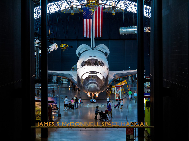 The Space Shuttle (aka Orbiter) Discovery flew 39 missions - more than any other spacecraft - and spent 365 full days in space.  Her maiden flight was on August 30, 1984, and her final landing was on March 9, 2011.  Among other achievements she put the Hubble Space Telescope in orbit.
