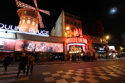 Moulin Rouge Paris, France