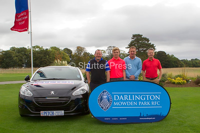 Darlington Mowden Park Rugby Club Corporate Golf Day at Rockcliffe Hall