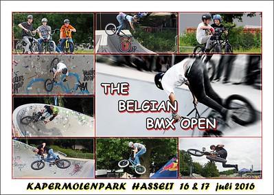 The Belgian BMX Open 2016 @ Kapermolenpark Hasselt  (part 1)