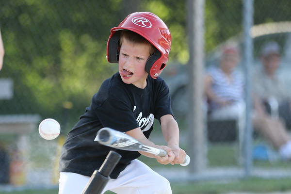 Black and Blue Tee Ball