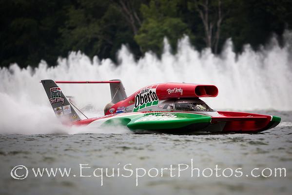 Madison Regatta final heat on 7.8.2012
