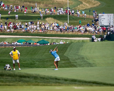 Alexis Thompson plays the 9th hole in the US Women's Open at Oakmont Country Club 7.11.2010 (EquiSport Photos)