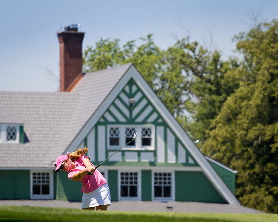 Paula Creamer plays #1 in the US Women's Open at Oakmont Country Club 7.11.2010 (EquiSport Photos)