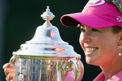 Paula Creamer wins the US Women's Open at Oakmont Country Club 7.11.2010 (EquiSport Photos)