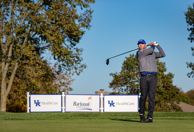 Josh Teater in the Barbasol Charity Golf Tournament at Champion Trace 10.16.20