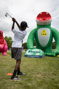 First Tee Clinic at the Barbasol 7.12.21