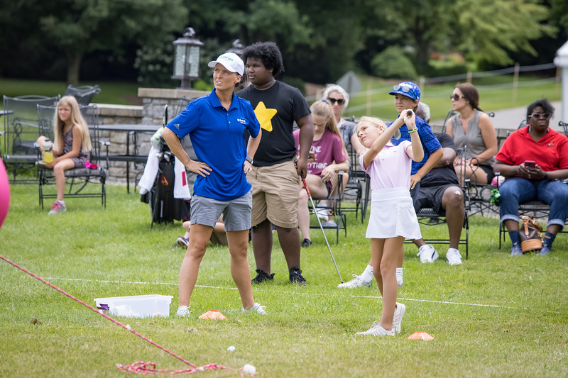 First Tee clinic